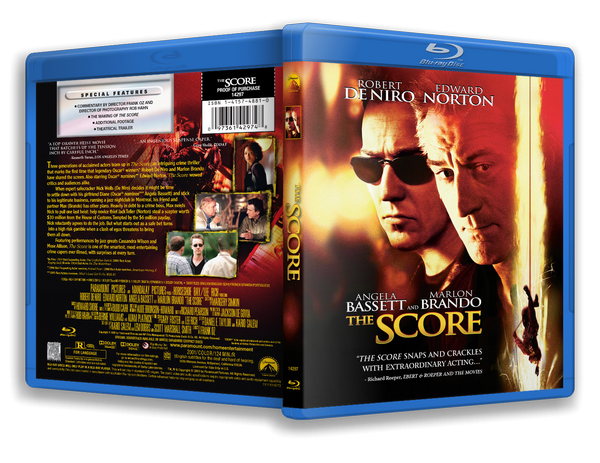 ����������� / The Score (2001) BDRip-AVC | MVO