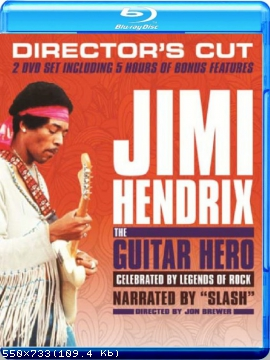 Jimi Hendrix - The Guitar Hero (2 Disc Set) (2013) Blu-ray