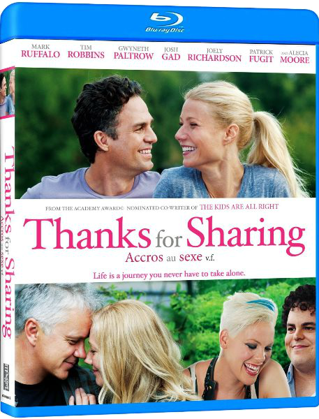 Спасибо за обмен / Thanks for Sharing (2012) BDRip-AVC от HELLYWOOD | P