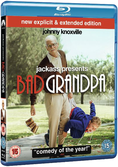 ��������� ��� / Jackass Presents: Bad Grandpa (2013) BDRip-AVC �� HELLYWOOD | ����������� ������ | ��������