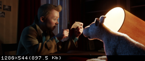 Приключения Тинтина: Тайна Единорога / The Adventures of Tintin (2011) BDRip 720p