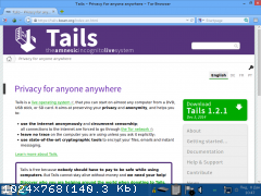Tails 1.4.1 [��������� ������ � ����] [i386] (2015) PC